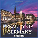 Beauty Of Germany: 2021 Wall & Disk Calendar, 16 Months