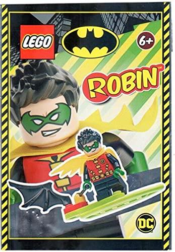 LEGO Super Heroes Robin con tabla de surf Minifigure Foil Pa