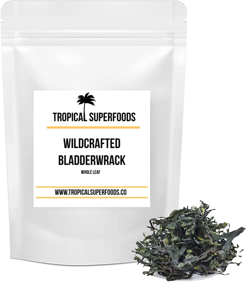 Bladderwrack Leaf Whole Organic Outstanding Ranking integrated 1st place Sun-Dried Wildcraft -