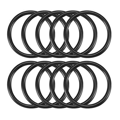 Sourcingmap Dichtungsring/O-Ring, 20x2mm, Kautschuk, Schwarz, 10Stück de