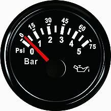 ELING Oil Pressure Gauge Meter 0-5bar 0-75Psi 52mm(2