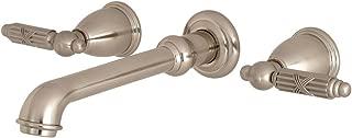 Kingston Brass KS7028GL Georgian Roman Tub Filler 10-7/16 Inch in Spout Reach Brushed Nickel