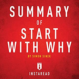 Summary of Start with Why by Simon Sinek cover art
