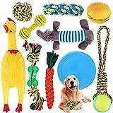 SaiXuan Hundespielzeug,10 PCS Hundeseile Spielzeug,Spielseil für Haustiere,Interaktives Kauspielzeug Spielzeug,Vorteilhaft für die Zahnreinigung des Hundes,für Welpe Kleine/Mittlere Hunde