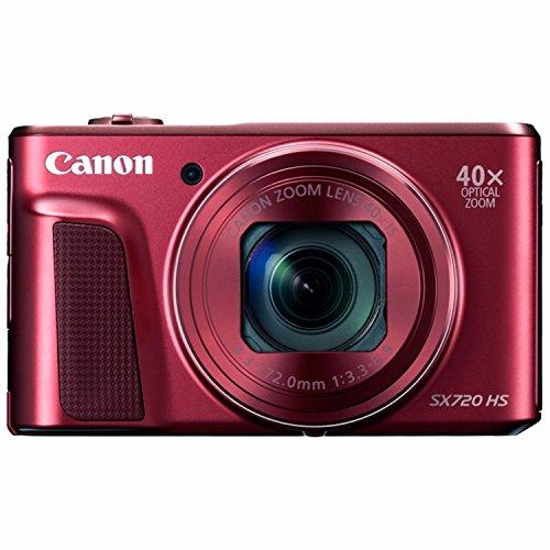 Canon PowerShot SX720 HS Digital Camera (Red)...