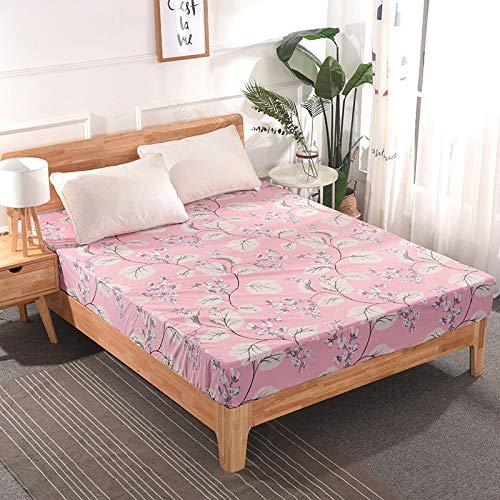 huyiming Gebruikt voor Hotel bedsprei effen kleur lakens waterdichte matras cover