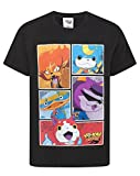 Yo Kai Watch Character Panels Maglietta da Ragazzo