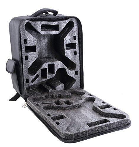 i.Trek Black Nylon Backpack Carrying Case for DJI Phantom 1 2 Vision / Vision+ / FC40 X350 PRO by i.Trek