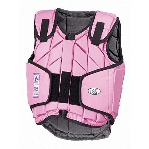 United Sportproducts Germany USG 4250693690385 Panel-Sicherheitsweste Eco-Flexi pink Kinder S