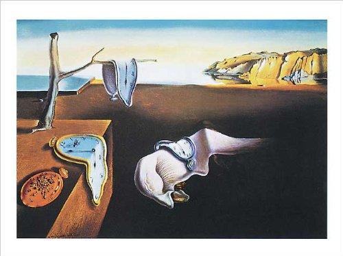 Salvador Dalí Poster/Kunstdruck The Persistance of Memory 50 x 40 cm