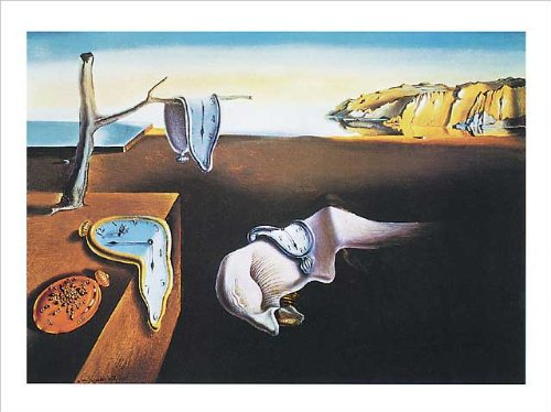Salvador Dalí Poster/Kunstdruck The Persistance of Memory 50 x 40 cm