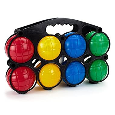 Crown Sporting Goods Beginner's 4-Player Bocce Set with Carrying Case
