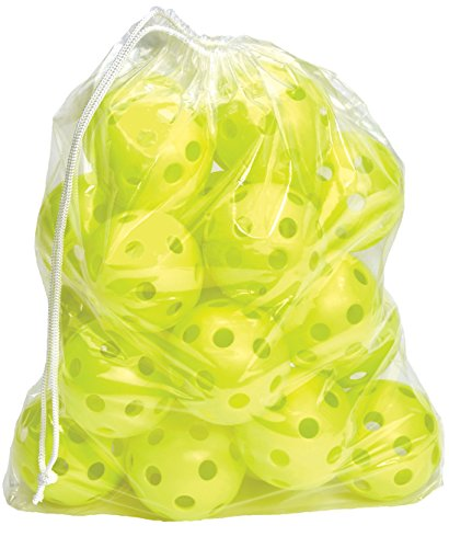 Hot Glove Bag of 25 Optic Yellow Practice Softballs
