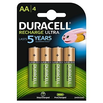 Duracell 81364752 Stay Charged AAX4 Pila Ricaricabile