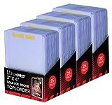 4 Ultra Pro Regular Top Loader Pack W/gold Rookie Foil Print 81180