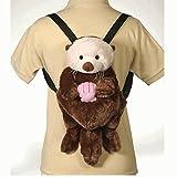 Fiesta Toys Travel Buddy 16' Sea Otter Plush Backpack
