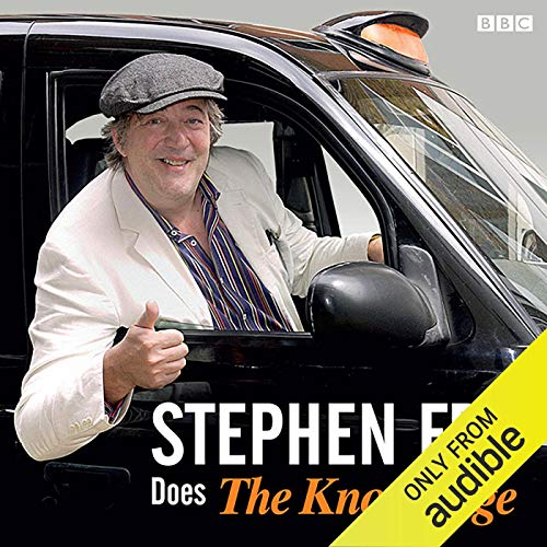 Page de couverture de Stephen Fry Does the 'Knowledge'