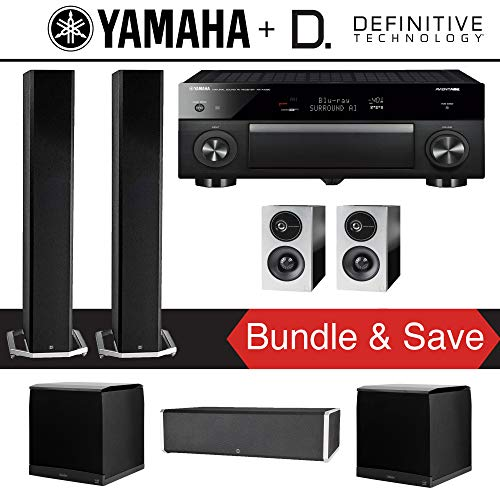 Definitive Technology BP9060 5.2-Ch High Performance Home Theater...