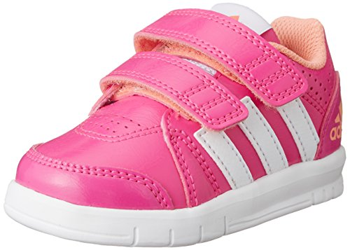 adidas Performance Unisex Baby LK Trainer 7 Sneaker, Pink (Shock Pink S16/Ftwr White/Sun Glow S16), 20 EU