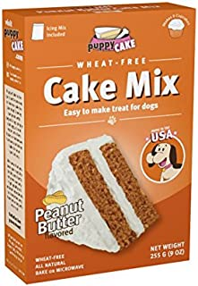 Puppy Cake Wheat-Free Peanut Butter Cake Mix and Frosting for Dogs