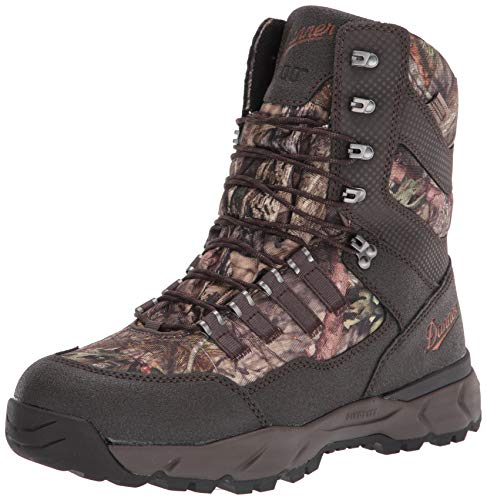 "Danner Men's 41555 Vital 8"" Insulated 1200G Hunting Shoe, Mossy Oak Break-Up Country - 10 M"