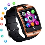 Smart Watch Touch Screen Bluetooth Wrist Watch Unlocked Watch Pedometer Sleep Monitor Sport Fitness Tracker Compatible with Android Phones Samsung Galaxy S10 S9 S8 S7 Note 8 9 Lg Men Women Boys Girls
