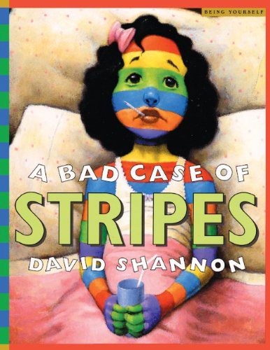 A Bad Case Of Stripes (Turtleback School & Library Binding Edition) (Being Yourself)