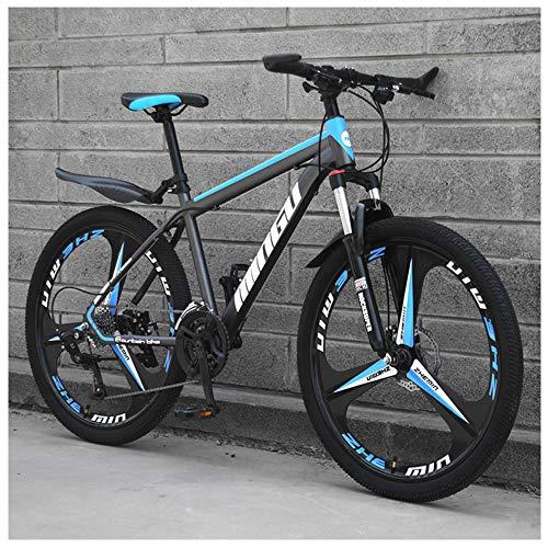 Nengge Mountainbike, 24 inch (61 cm) hardtail MTB met vorkvering, volledige vering mountainbike met gratis spatborden