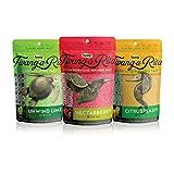 Twang-A-Rita Cocktail Rimming Salt Blend, Lime Variety, 4 Ounce Pouch (Set of 3) 1 Each:...