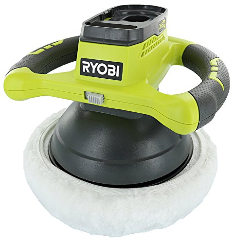 Ryobi P435 One+ 18V Lithium Ion 10' 2500 RPM Cordless Orbital Buffer/Polisher with 2 Bonnets (Battery Not Included, Power Tool Only)