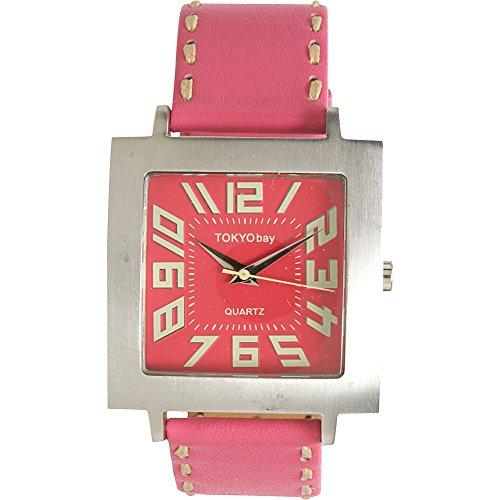 Tokyobay Tram watch, pink