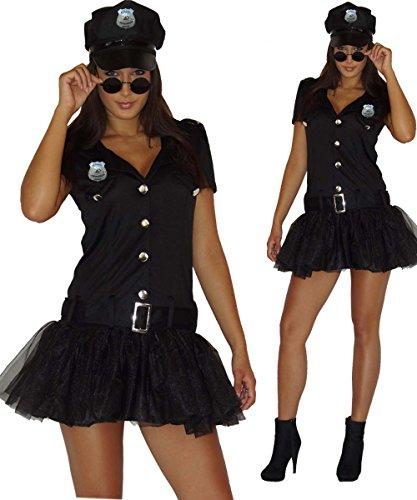 Maylynn 13709 - Costume de policière Sexy - Robe et képi - Medium