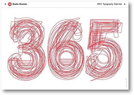 Studio Max 45% OFF Hinrichs 365 2021 Wall Large wholesale 23x33 Calendar