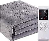 MU Manta térmica, manta de temperatura lavable de seguridad, temporizador ajustable Can Be Dicht, manta protectora gruesa, 0,9 x 1,8 m