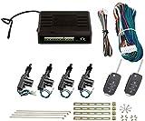 SLPRO Cierre centralizado con 2 mandos a distancia universales para coche.