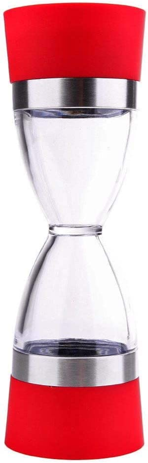 CHANCY Manual Pepper gift Grinder Hourglass 2 1 Spice Gifts Shape in Bottle