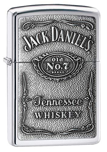 Zippo 1310011 Aansteker Jack Daniel's Label Chrome