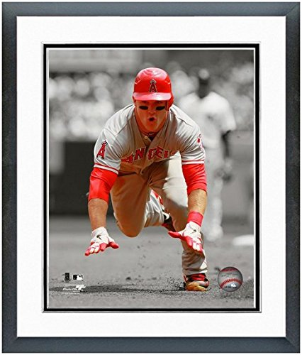 Vladimir Guerrero Anaheim Angels MLB Double Matted 8x10 Photograph 2007 All-Star Game Home Run Derby Champion