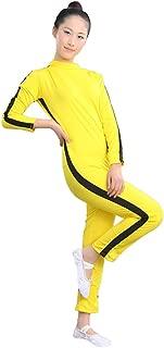ZooBoo Adults & Kids One Piece Jumpsuit Costume Yellow Kungfu Uniforms