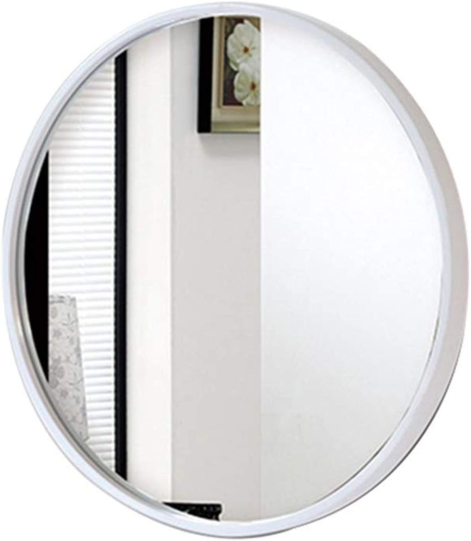 Bathroom Mirror, Round Vanity Mirror, European Wall Mirror Wall Hanging 40 50 60   70cm