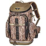 TENZING Hangtime Day Pack | Hunter's Backpack in Mossy Oak Bottomland with Bow and Quiver Holder & Water Port