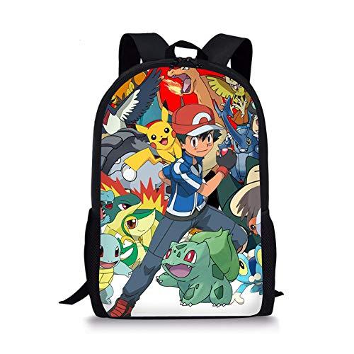 Sac à dos pour enfant avec motif animé Pokémon...