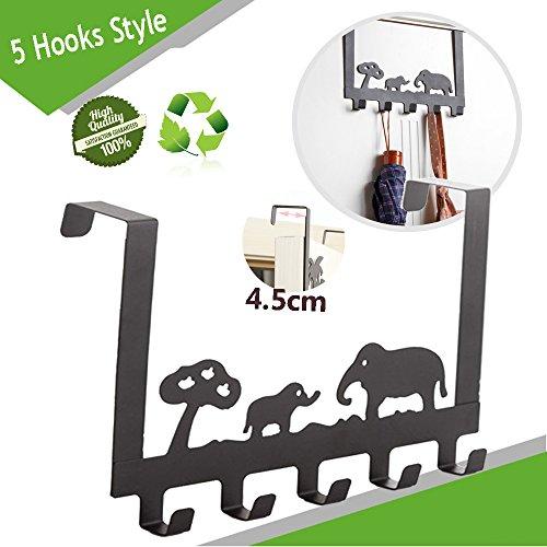 Türgarderobenhaken, Morbuy Tier-Design Metall ≤4.5cm Türhaken Kleiderhaken Badezimmer Haken Garderobenhaken Wandhaken Für Schlafzimmer