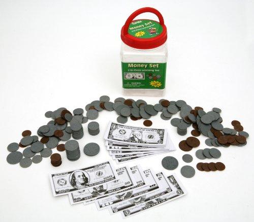 Eureka Tub Of Money, 318 Pieces in 3 3/4' x 5 1/2' x 3 3/4' Tub, 7 1/2' x 3 3/4' (867420)