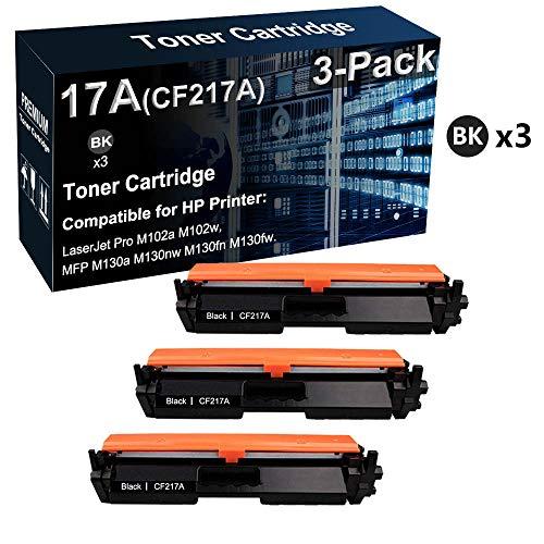 Cartucho de tóner compatible 17A CF217A de alto rendimiento utilizado para impresora HP LaserJet Pro M102a M102w MFP M130a M130fw / MFP M130a M130fn (negro)