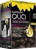 Garnier Olia coloración permanente sin amoniaco para un olor agradable con aceites florales de origen natural - Castaño Claro 5.0