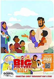 The Big Picture Interactive Bible for Kids, Jesus Edition LeatherTouch: Connecting Christ Throughout God's Story (The Big Picture Interactive / The Gospel Project)