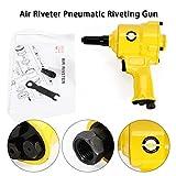 TBVECHI Rivet Gun, Pc Pneumatic Pistol Type Pop Rivet Gun Air Riveter Pneumatic Riveting Gun Tool