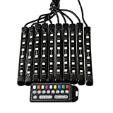 Alpena 71017 Moto LED RGB Waterproof Remote Controlled LED Strip Kit for Motorcycles, 1 Pack