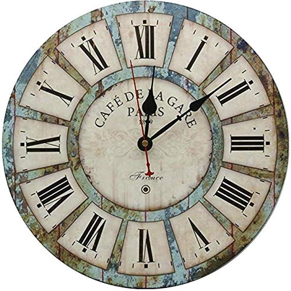 わかりやすいブリリアント衝突装飾的な壁掛け時計、サイレント壁掛け時計非刻々と動くリビングルームキッチンバスルーム寝室ラウンドヴィンテージの装飾